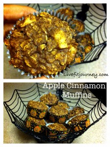Apple Cinnamon Cranberry Muffins