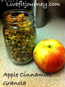 Clean Apple Cinnamon Granola